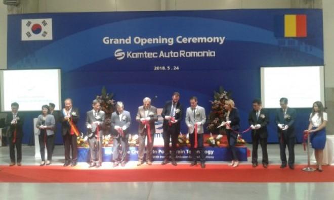 Investitie de 5 milioane de euro, in Prahova! Kamtec Auto Romania a inaugurat prima sa fabrica, la Aricestii Rahtivani