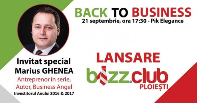 Lansare BIZZ.CLUB la Ploiești