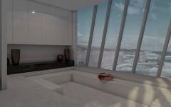 Casa suspendată pe o stâncă deasupra oceanului. Priveliştea îţi taie RESPIRAŢIA FOTO