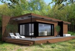 O casă mică, ieftină și ingenioasă. Costă numai 11.900 de euro si a fost prezentata la Targul Imobiliar
