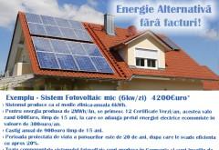 Ajutor de 5.000 de euro pentru românii care vor să-şi producă singuri energia electrică