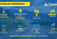 Locuri de munca: Michelin face angajari pentru fabrica din Floresti, Prahova