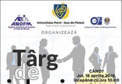 La UPG Ploieşti, o nouă ediţie a târgului de job-uri. Se fac recrutari in IT, constructii, marketing, turism etc