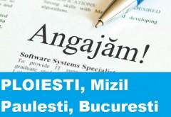Locuri de munca Ploiesti, Bucuresti, Mizil, Paulesti – 14 ianuarie 2015