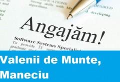 Locuri de munca Valenii de Munte, Maneciu – 14 ianuarie 2015