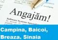 Lista locurilor de muncă vacante în Câmpina și împrejurimi