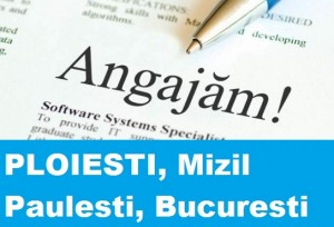 Locuri de munca in Ploiesti. Lista completa AJOFM