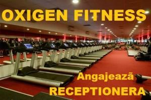 Oxigen Fitness Ploiesti angajeaza RECEPTIONERA