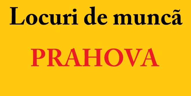 Peste 2.200 de locuri de munca disponibile in Prahova