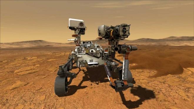 Noi imagini spectaculoase de la NASA. Perseverance a transmis primul video de pe Marte (VIDEO)