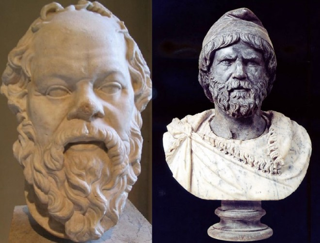Marele filozof grec SOCRATE a avut ca invațator spiritual un TRACO-GET – ucenic al lui Zalmoxis. Dovezi