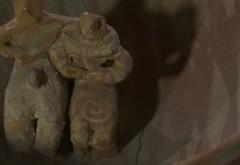 """""""Îndrăgostiții"""" de acum 6.000 de ani: Artefact UNIC al culturii Gumelnița"""