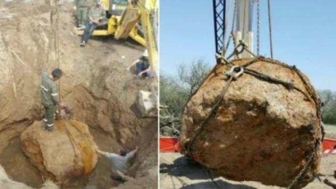 A fost descoperit al doilea METEORIT cel mai mare din lume
