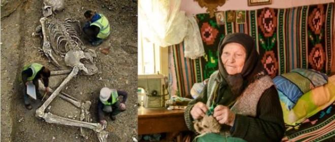 """O bătrână din Popești – Giurgiu susține că a văzut, în trecut, un schelet uman uriaș, la efectuarea unor săpături arheologice în cetatea Argedava – """"locul nașterii lui Burebista"""""""