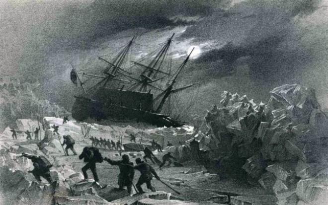 Istoria neştiută a tragediei arctice provocate de o fabrică de conserve din România. Toţi exploratorii au murit