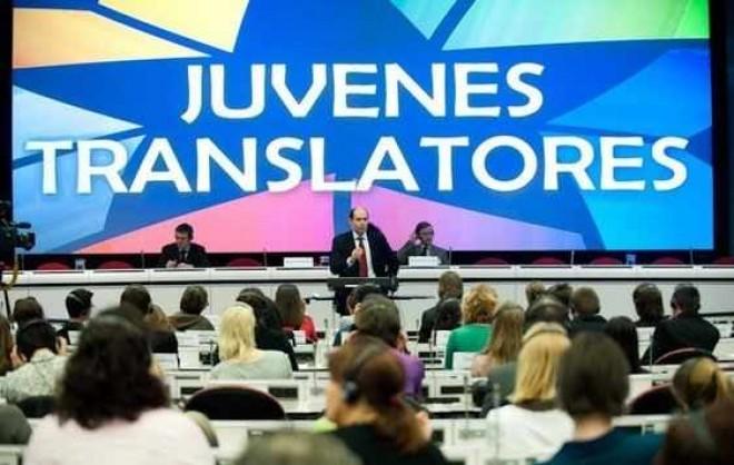 """O elevă a Colegiului Național """"Mihai Viteazul"""" din Ploiești - câștigătoarea din România a concursului """"Juvenes Translatores"""""""