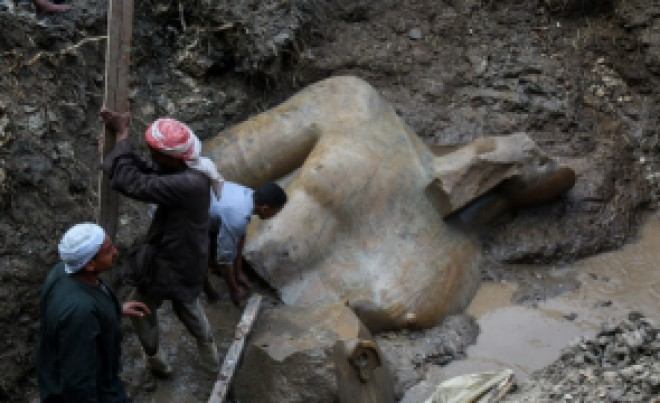 Descoperire COLOSALĂ în Egipt: statuie gigant a lui Ramses al II-lea/FOTO+VIDEO