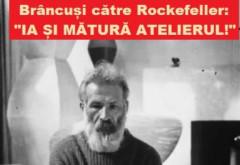 """Constantin Brâncuşi, zeul ţăran. Rockefeller: """"Cum pot să te ajut?"""" Brâncuşi: """"Ia şi mătură atelierul!"""""""