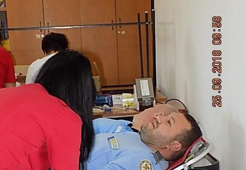 """Exemplu de urmat! 50 de angajati ai Penitenciarului Ploiesti au DONAT sange, in campania """"Donează o șansă la viață""""."""