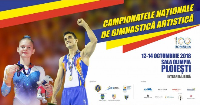 Weekend cu gimnastica, la Sala Sporturilor din Ploiesti. Incep Campionatele Naționale de Gimnastică Artistică
