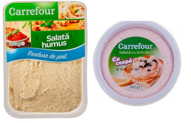 Carrefour retrage din magazine două produse în care s-a depistat prezența bacteriei Listeria. Clienții care le-au consumat, trimiși de urgență la medic!