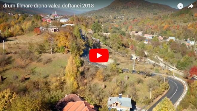 Imagini spectaculoase! Cum arata Valea Doftanei filmata cu drona
