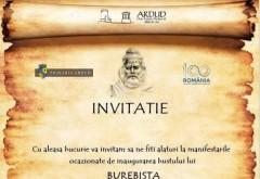 Bustul lui Burebista va fi inaugurat la Ardud, pe 25 octombrie