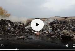 Un nou incendiu a depozitul de mase plastice din Pleasa. Cine pune foc intentionat?