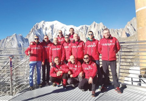 Trei salvatori montani au reprezentat județul Prahova la Chamonix-Mont Blanc