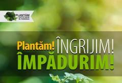 """Echipa """"Plantăm fapte bune în România"""" impadureste Prahova. 3000 de copaci vor fi plantati in comuna Tãtaru"""