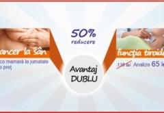 Campanie in Ploiesti de prevenţie a cancerului la sân şi a bolilor de tiroidă, la Gral Medical