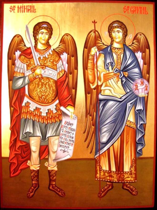 Sfinții Mihail și Gavriil sunt sărbătoriți astăzi. Tradiții și superstiții