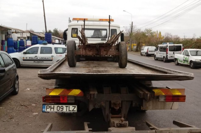 Cate carute au confiscat politistii in Ploiesti, de la intrarea in vigoare a noii hotarari