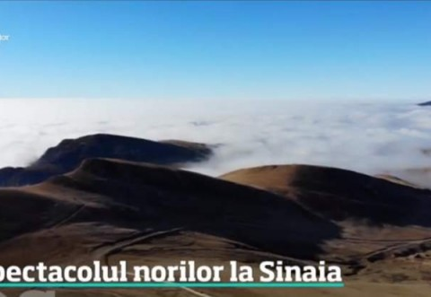Cum explică specialiștii fenomenul meteo spectaculos de la Sinaia