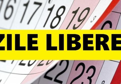 ZILE LIBERE de sărbători: Guvernul măreşte MINIVACANŢA de Crăciun şi REVELION. Calendar ZILE LIBERE 2019
