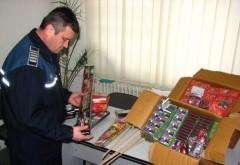 Vanzatorii de pocnitori si artificii, din Ploiesti, luati la bani marunti de politisti