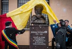 Programul SMV pentru Centenar continua! Bust al lui MIHAI VITEAZU dezvelit la Păuleşti, jud. Satu Mare