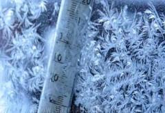 Vremea rece cuprinde toată ţara. Meteorologii anunţă ninsori şi un ger cumplit