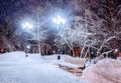 PROGNOZA METEO. Ger şi ninsori în toată ţara. Cât va dura frigul