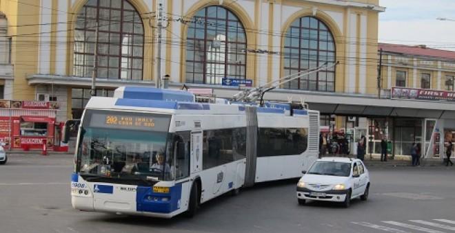 Un sofer de autobuz a fost BATUT de un tigan, la Gara de Sud