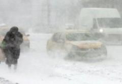 ULTIMĂ ORĂ - Cod PORTOCALIU de ninsori și viscol în mai multe județe