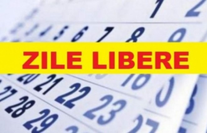 Câte libere vor avea românii de Paște și de 1 Mai