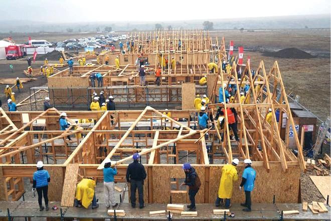 In comuna Berceni se vor construi locuinţe pentru familiile nevoiase