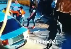 Imagini necenzurate cu bătaia sălbatică dintre mai mulţi tineri, în Strejnicu. Motivul este halucinant