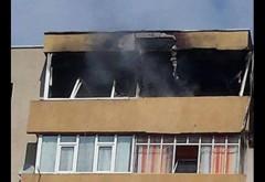 Incendiu intr-un bloc din Ploiesti. Mai multi pui de gaina au ars dupa ce o clocitoare a luat foc