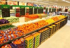Tone de fructe și legume 'improprii consumului uman', depistate în marile lanțuri de magazine