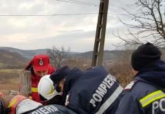 Un barbat a cazut intr-o fantana adanca de 30 de metri, la Sotenesti. Posibil decedat
