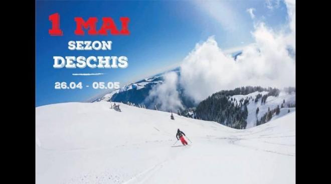 Vesti excelente pentru iubitorii sporturilor de iarna. La Sinaia se va schia si de Paste, si de 1 Mai