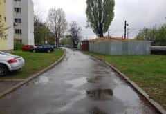 Garaje ilegale ridicate pe spațiul verde din Ploiești. Reacția Poliției Locale