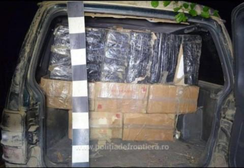 Poliţiştii au destructurat o reţea care făcea contrabandă cu ţigări. Infractorii foloseau drept paravan o firmă ce vinde seminţe